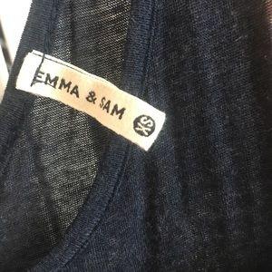 Emma & Sam Tops - Emma and Sam super soft tank
